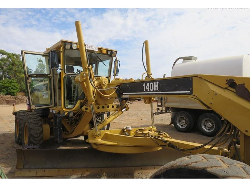caterpillar 140h vhp series 2 771486 003