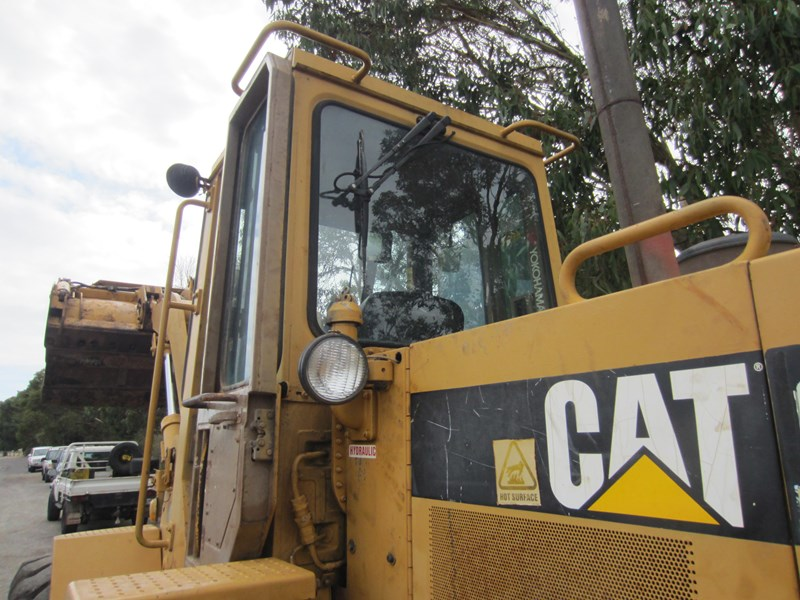 caterpillar 916 articulated front end loader 757295 031