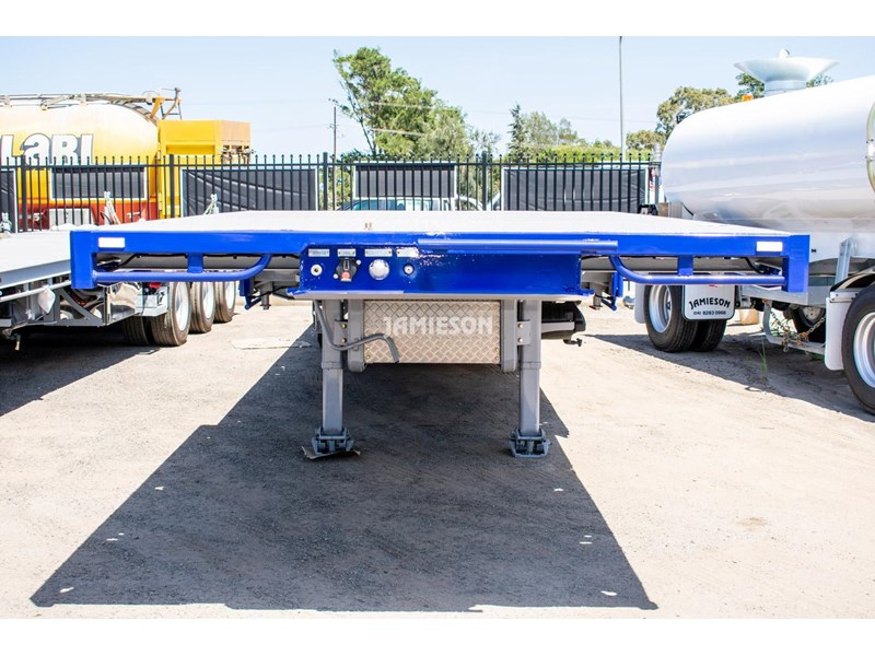 jamieson drop deck trailer - tri-axle - road train rated - 13.7m 45' 15597 001