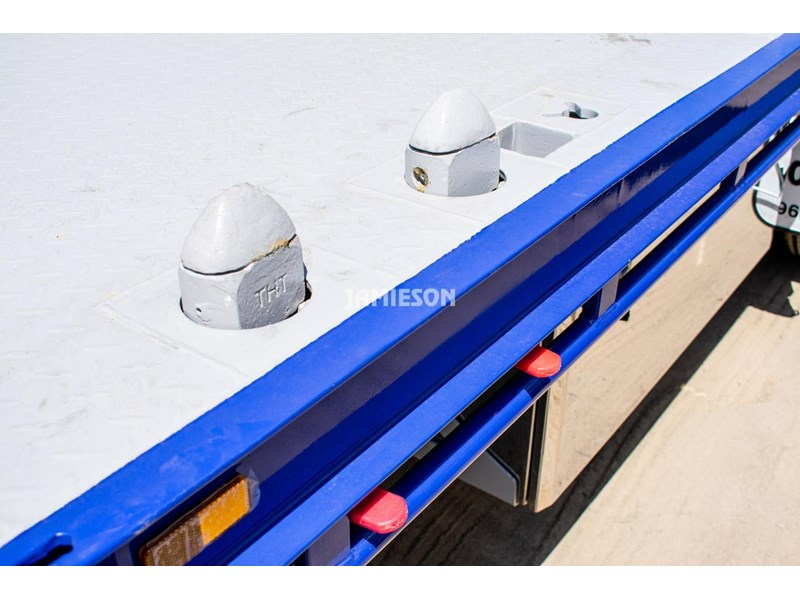 jamieson drop deck trailer - tri-axle - road train rated - 13.7m 45' 15597 017