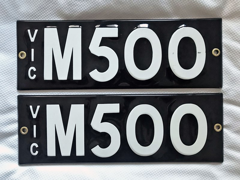 number plates m500 781870 001