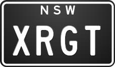 number plates xrgt 782232 001