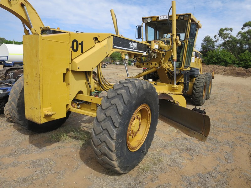 caterpillar 140h vhp series 2 771486 001