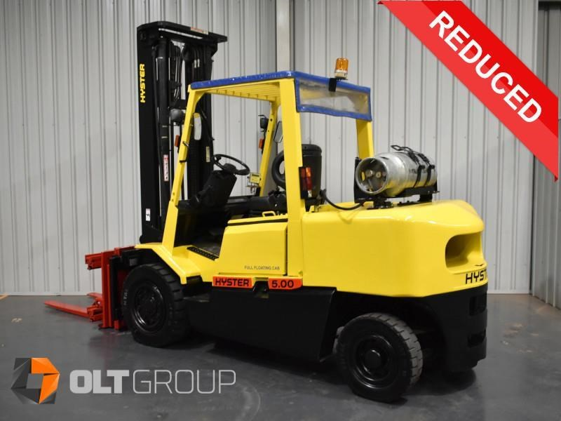 hyster h5.00dx with rotating pallet fork attachment 783107 001