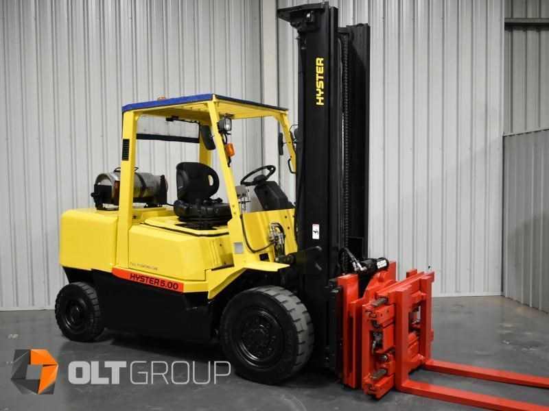 hyster h5.00dx with rotating pallet fork attachment 783107 004