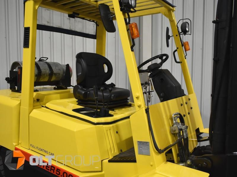 hyster h5.00dx with rotating pallet fork attachment 783107 006