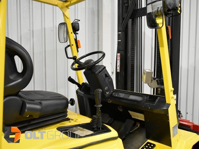 hyster h5.00dx with rotating pallet fork attachment 783107 007