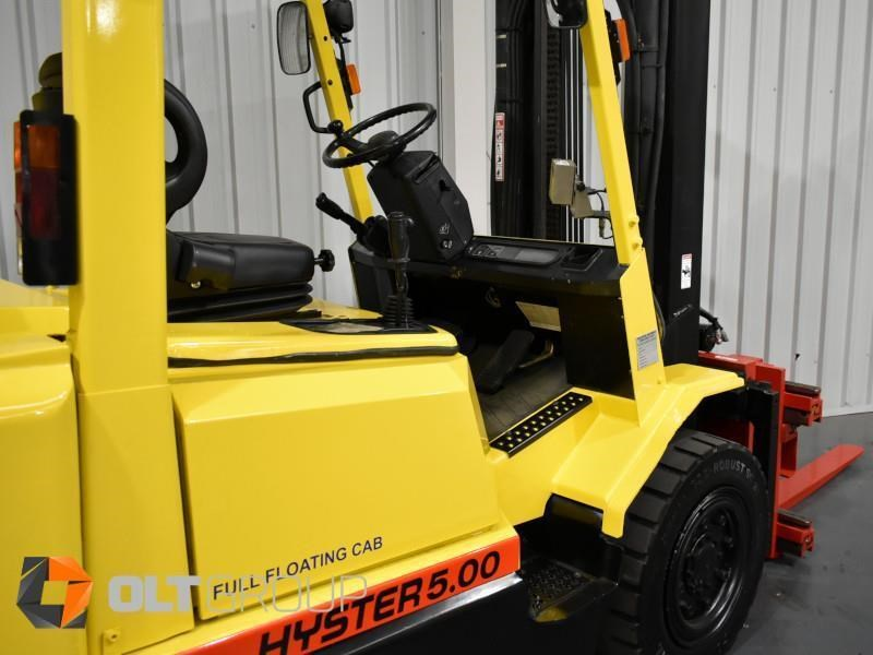 hyster h5.00dx with rotating pallet fork attachment 783107 008