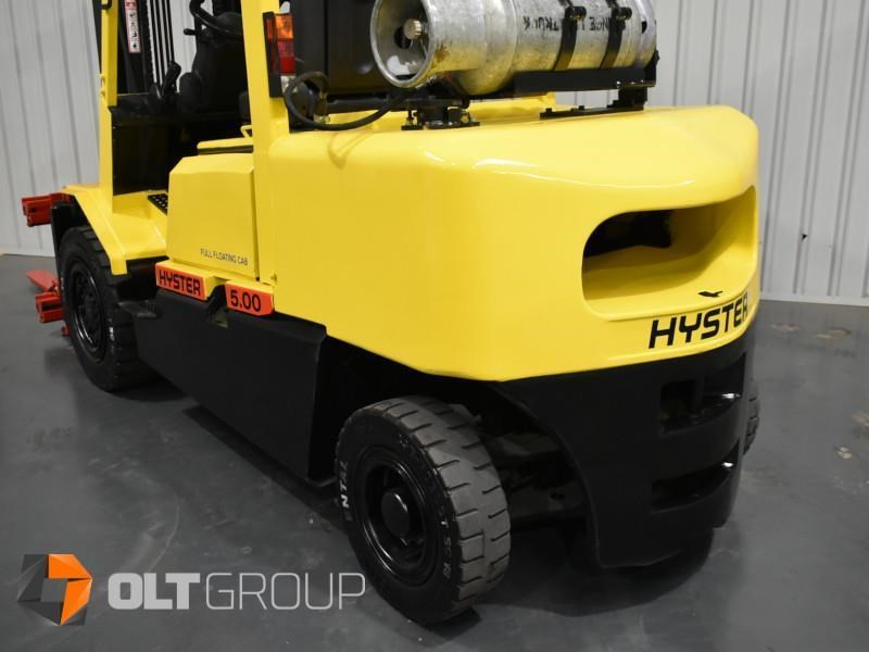 hyster h5.00dx with rotating pallet fork attachment 783107 011