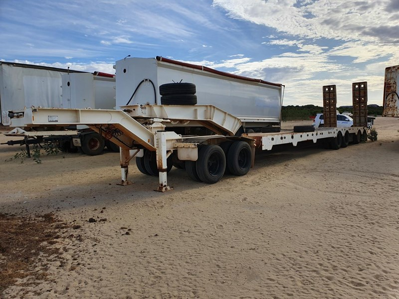 lusty quad axle low loader 784345 005