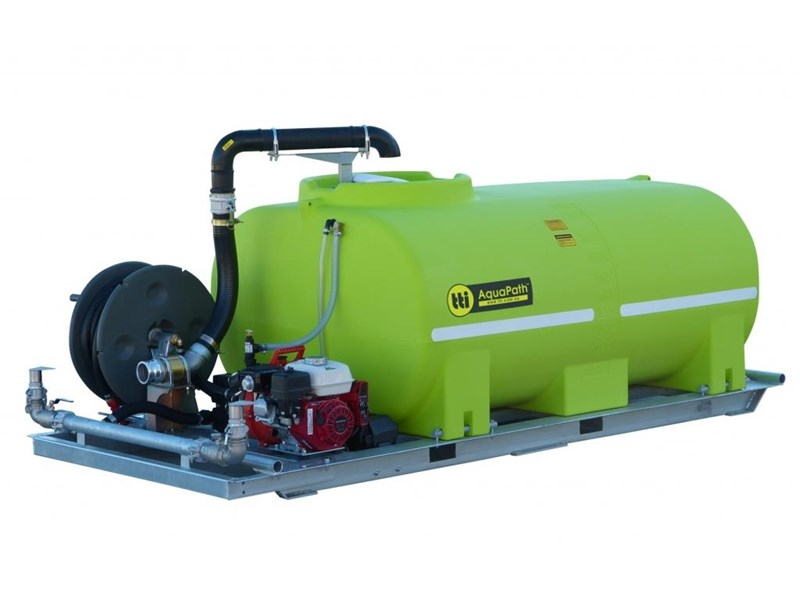 trans tank international aquapath slip-on water carts with honda gx200 and davey pump 785613 001