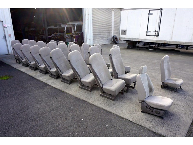 mitsubishi rosa deluxe high back cloth seats 787820 002
