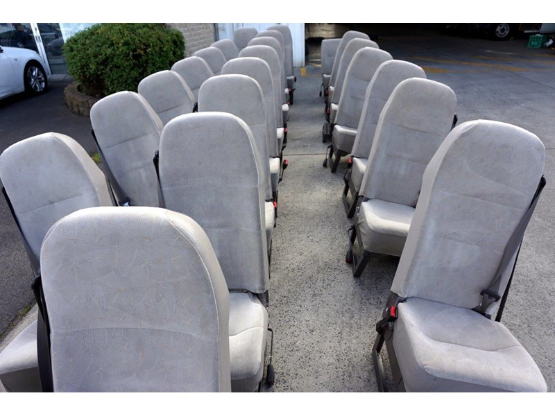 mitsubishi rosa deluxe high back cloth seats 787820 005