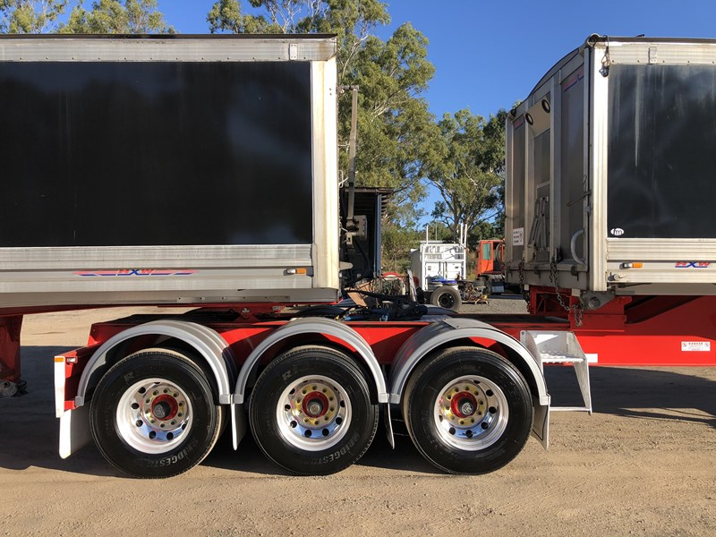 maxitrans b-double tipper combination 788946 019