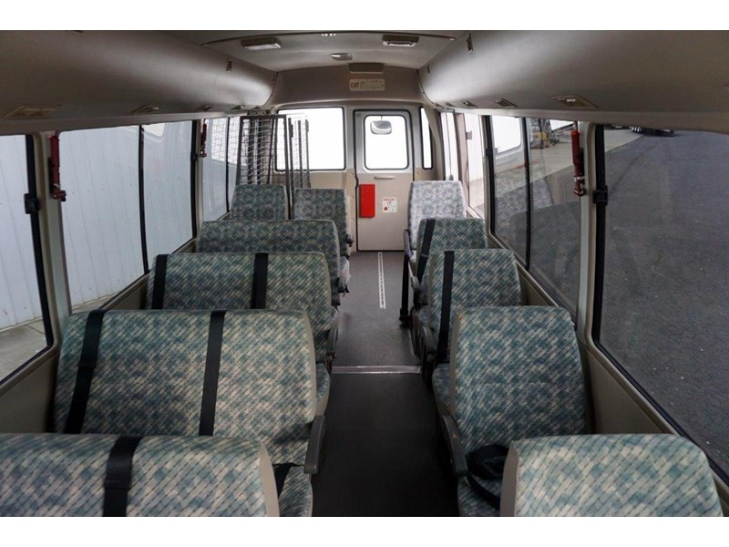 mitsubishi rosa 19 seat wheelchair bus 797415 005