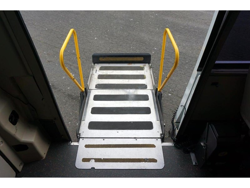 mitsubishi rosa 19 seat wheelchair bus 797415 016