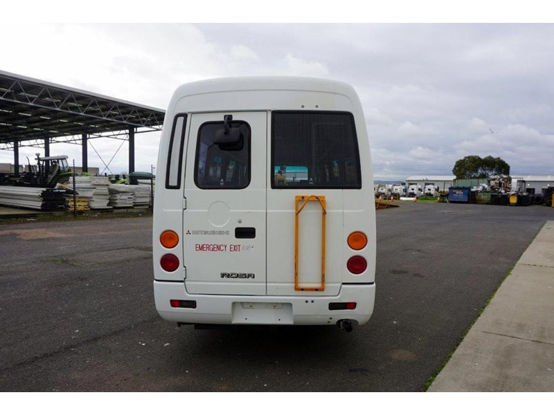 mitsubishi rosa 19 seat wheelchair bus 797415 012