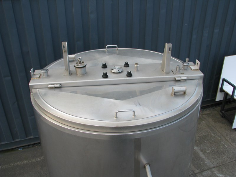 jacketed stainless steel tank with mixer 3200l 798309 004
