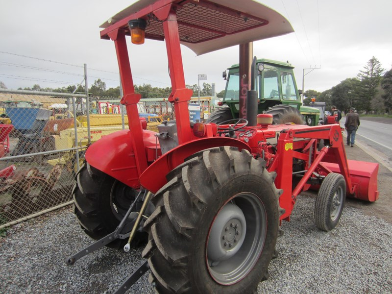 massey ferguson 240 tractor with fel 798485 010