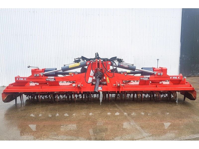 falc kratos 5000p folding power harrow 800745 003