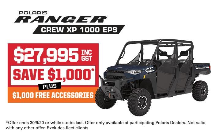 polaris ranger crew xp 1000 eps 735870 001