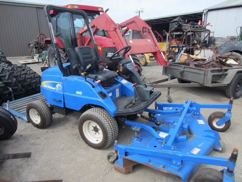 new holland mc28 front mount mower 4 wheel drive 807972 010