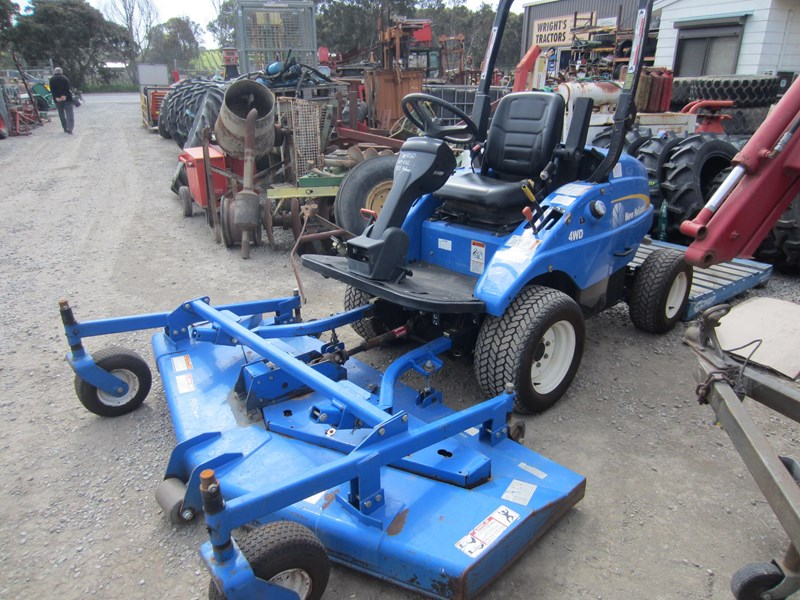 new holland mc28 front mount mower 4 wheel drive 807972 012