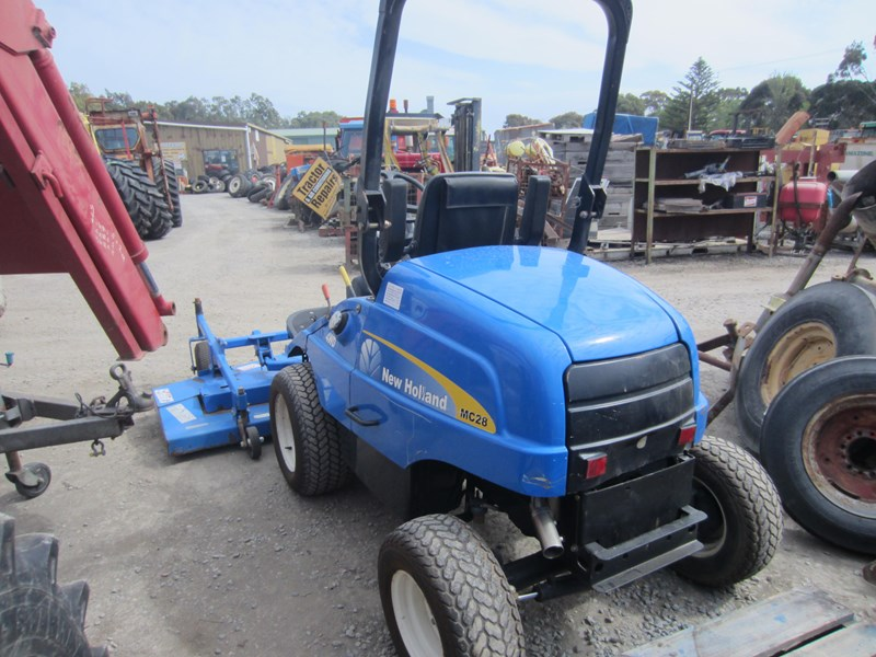 new holland mc28 front mount mower 4 wheel drive 807972 014