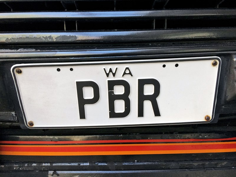 number plates pbr 808336 001