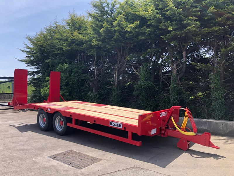 mccauley 2 axle tandem low loader (ullt) 808817 001