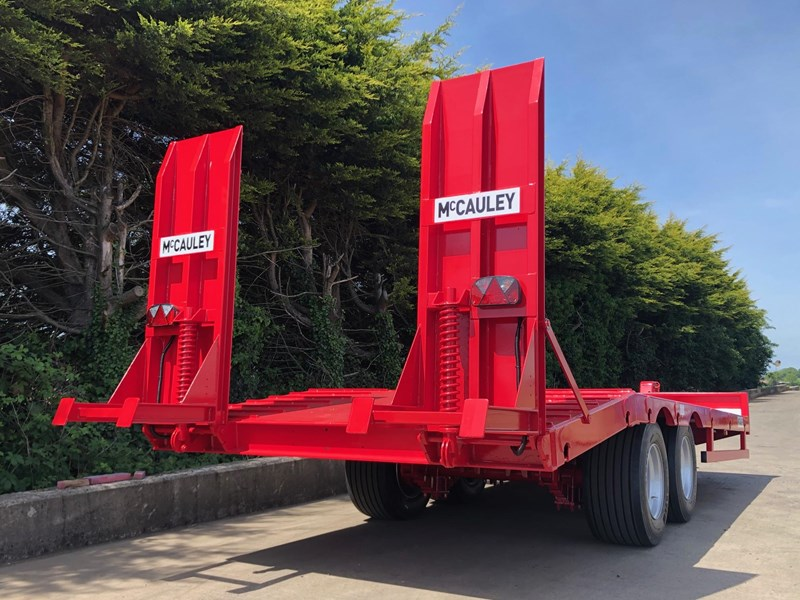 mccauley 2 axle tandem low loader (ullt) 808817 012