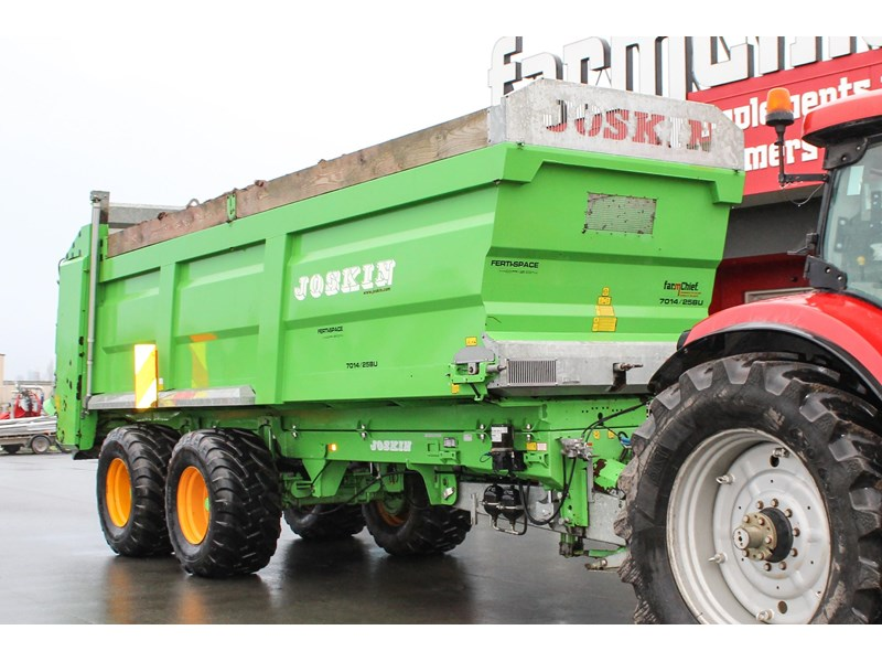 joskin ferti-space 22t horizon fs7014/25bu muck spreader 809046 001
