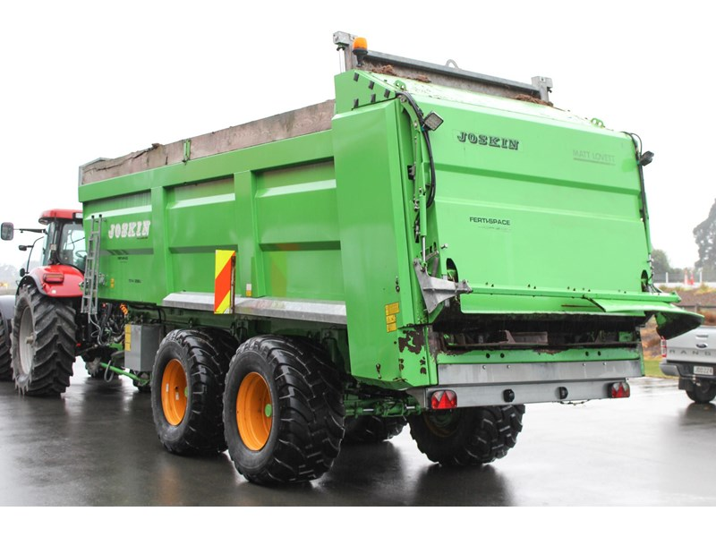 joskin ferti-space 22t horizon fs7014/25bu muck spreader 809046 002