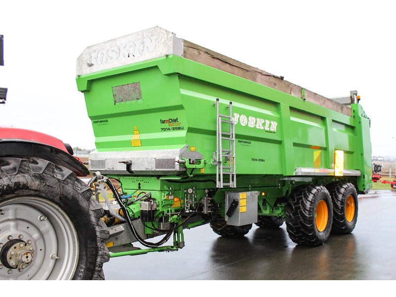 joskin ferti-space 22t horizon fs7014/25bu muck spreader 809046 004
