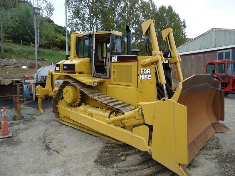 caterpillar d7r ii 257351 001