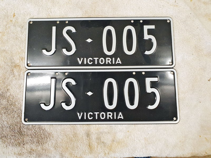 number plates any 801203 003