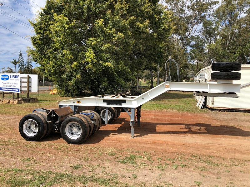 drake 2x8 hydraulic widening low loader dolly 811278 002