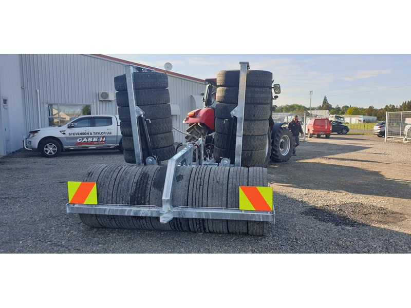 s&t engineering 5.3 meter folding tyre packer roller 813988 005