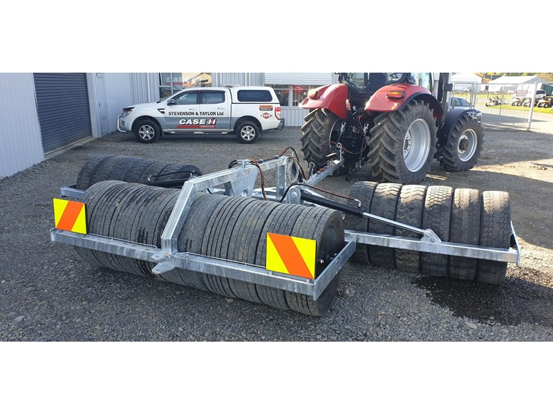 s&t engineering 5.3 meter folding tyre packer roller 813988 006