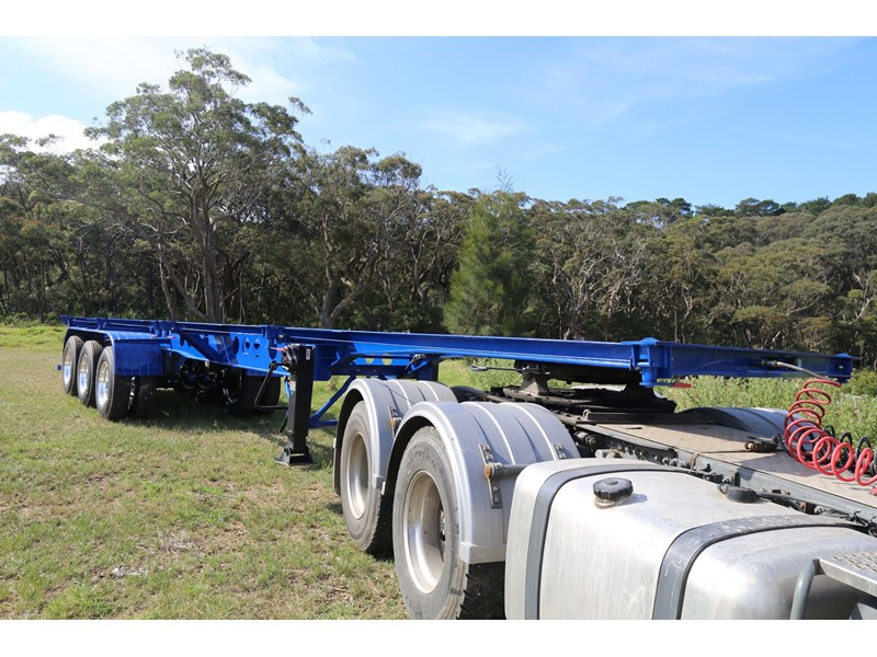aaa 2020 aaa 40' 3 way light weight 4.6t skeletal trailer-ebs 797939 002