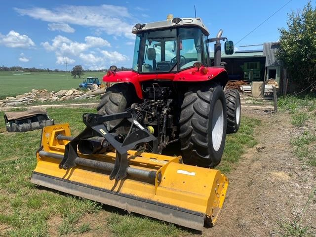 massey ferguson mf7465 and muthing mu-m mulcher 812201 003