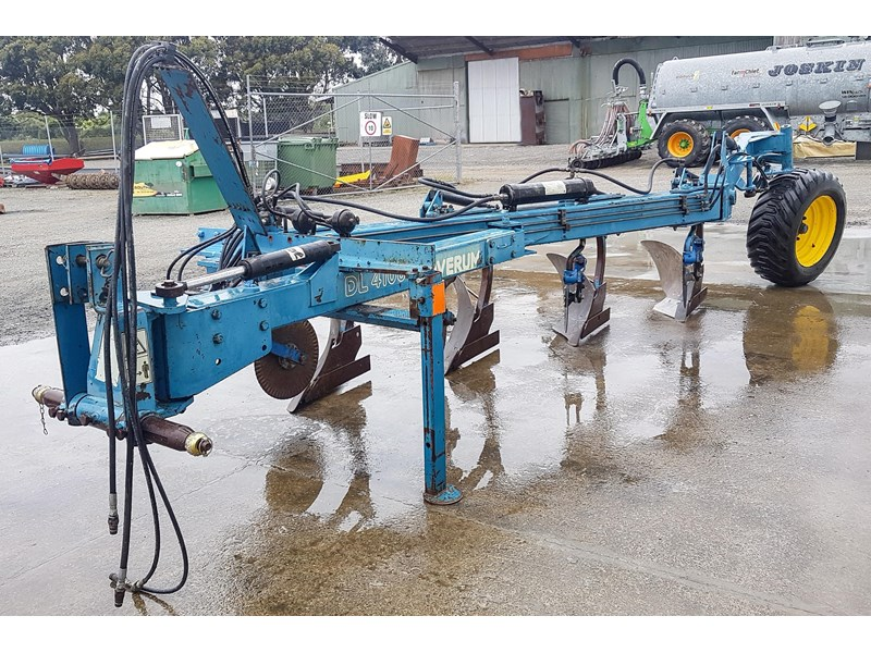 overum dl 4108 h 4fw semi-mounted conventional plough 825506 002