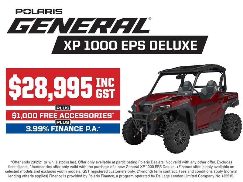 polaris general 1000 deluxe 735470 001
