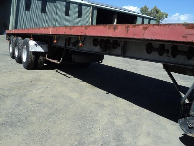 krueger 45ft flat top semi trailer 828685 004