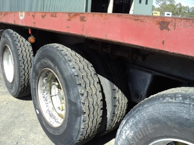 krueger 45ft flat top semi trailer 828685 007
