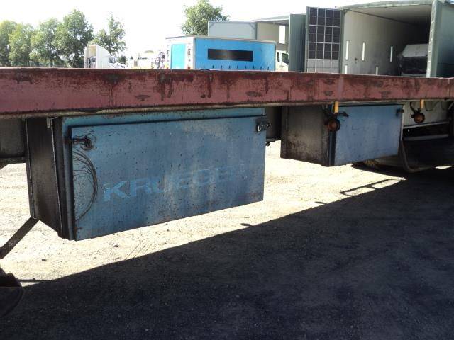 krueger 45ft flat top semi trailer 828685 012