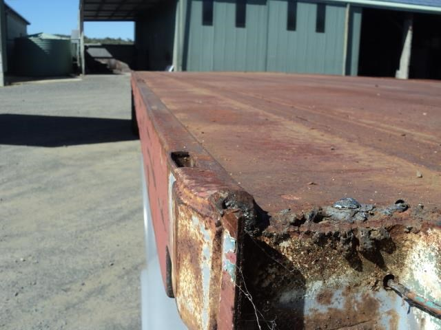 krueger 45ft flat top semi trailer 828685 018
