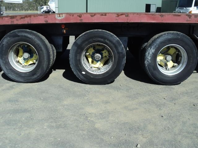 krueger 45ft flat top semi trailer 828685 019