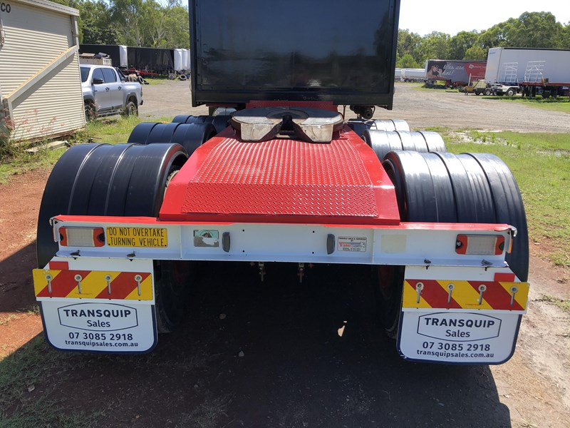 maxitrans 10 pallet tri-axle a-trailer tautliner 833030 004
