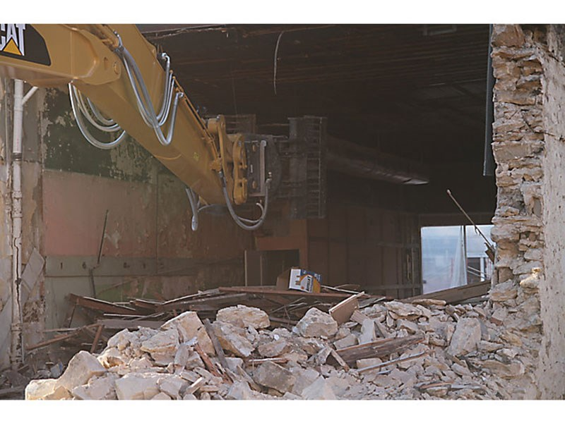 Caterpillar G310B-R Demolition and Sorting Grapple